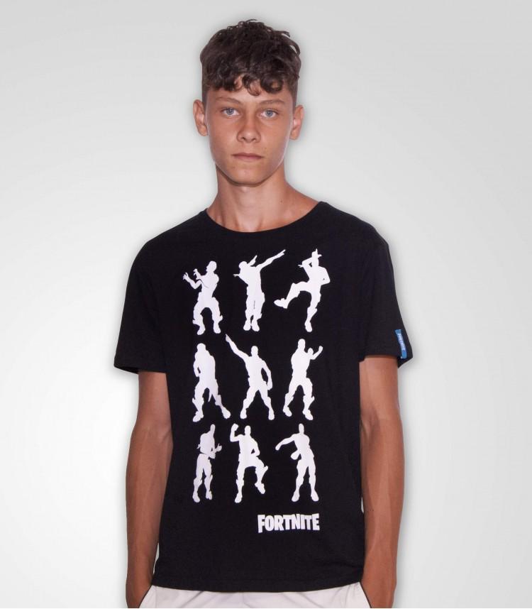 Fortnite t-shirt nera Dance...
