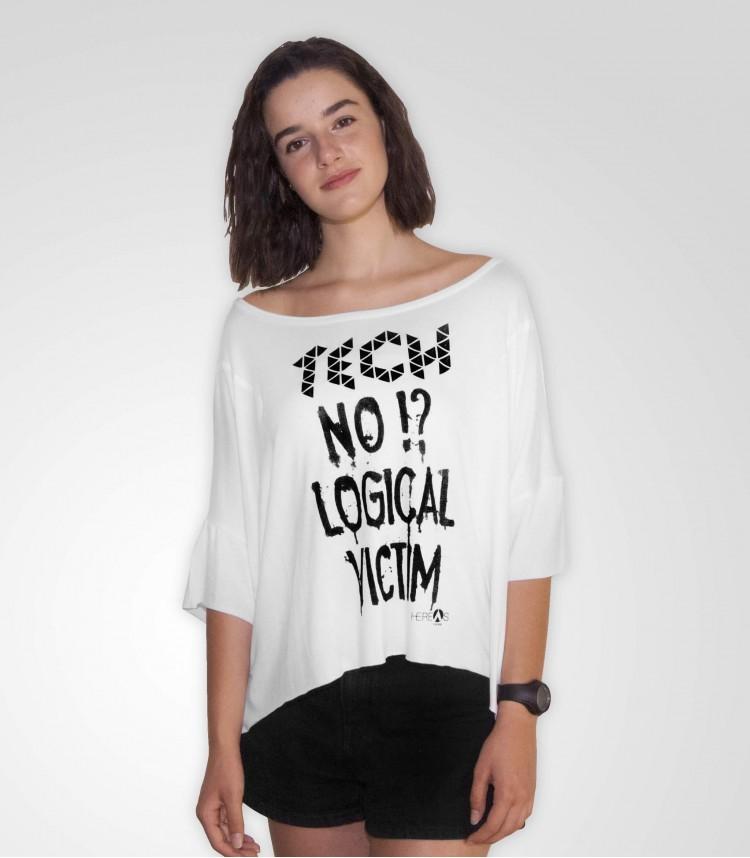 Hereas t-shirt bianca Tech
